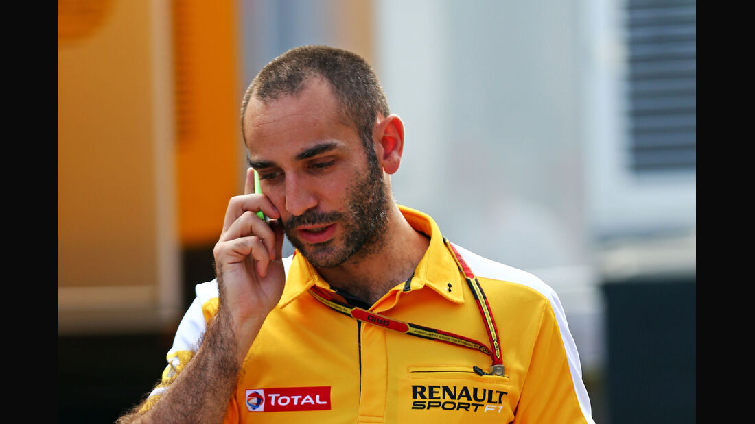 Cyril Abiteboul - Renault - F1 2014