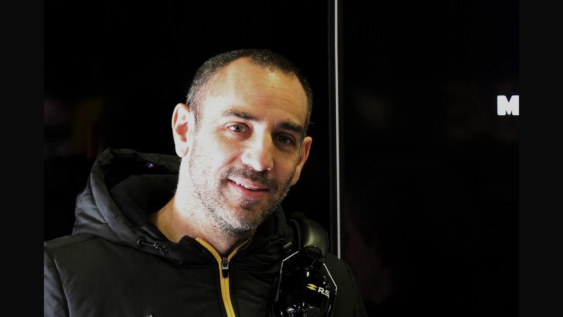 Cyril Abiteboul - Renault - F1-Test 2019