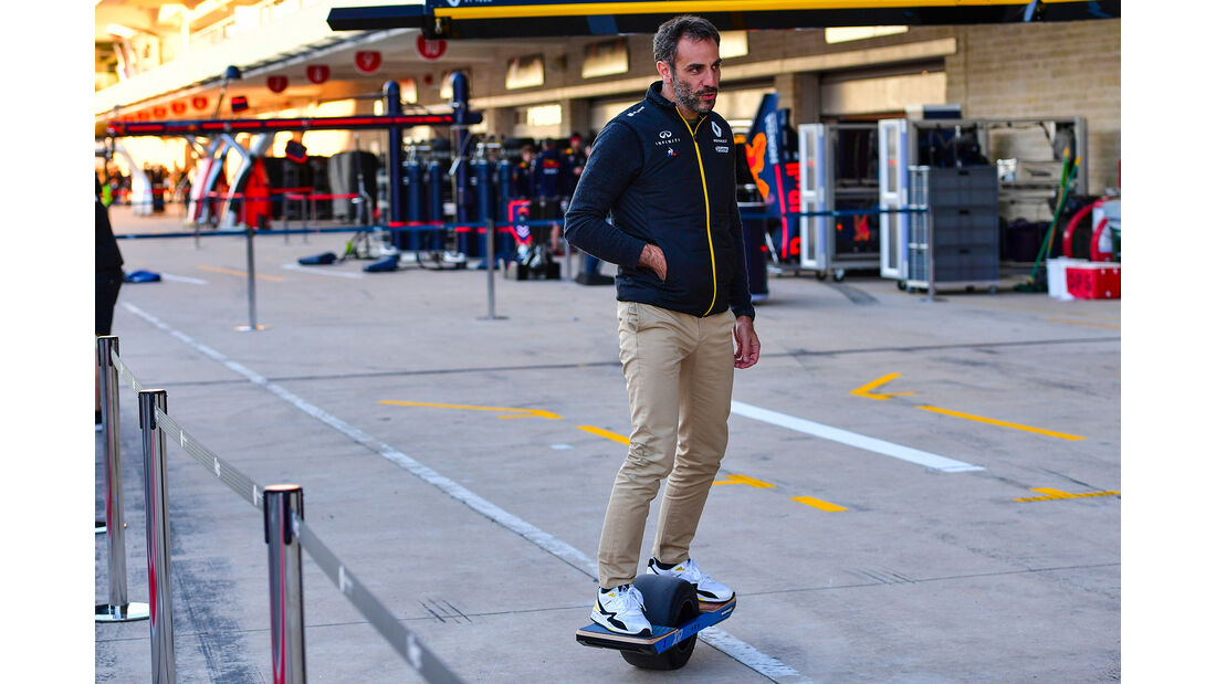 Cyril Abiteboul - Renault - Formel 1 - GP USA - Austin - 1. November 2019
