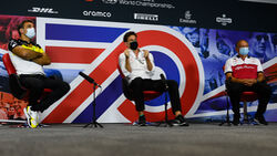 Cyril Abiteboul - Toto Wolff - Frederik Vasseur - 70 Jahre F1 Grand Prix - Silverstone