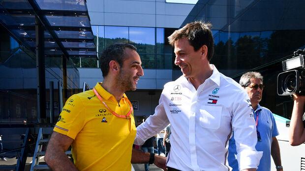 Cyril Abiteboul & Toto Wolff - GP Österreich 2019