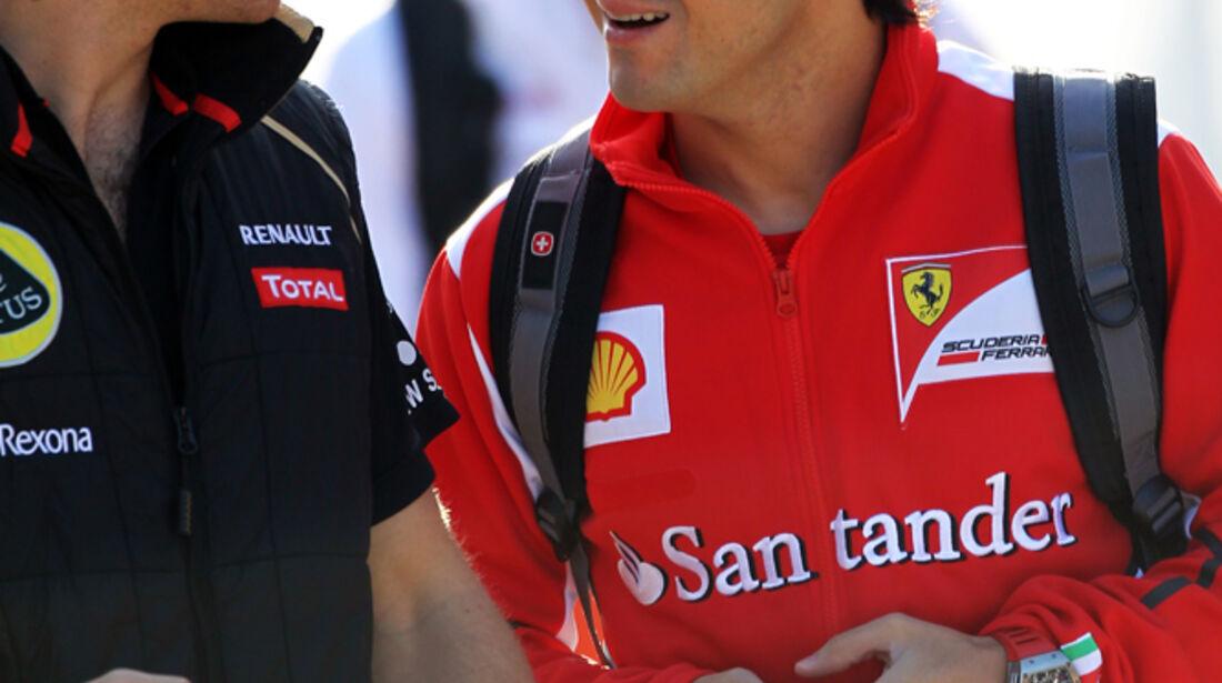 D'Ambrosio & Massa - Formel 1 - GP Korea - 12. Oktober 2012
