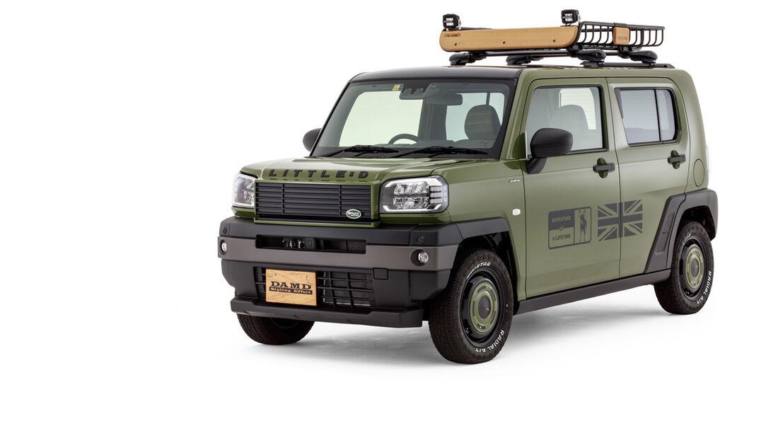 DAMD Daihatsu Taft Defender Look Tuning Kei Car