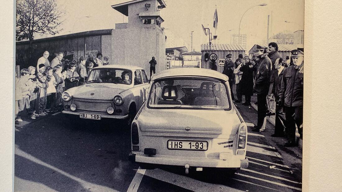 DDR Flucht Fahrzeuge Checkpoint Charlie