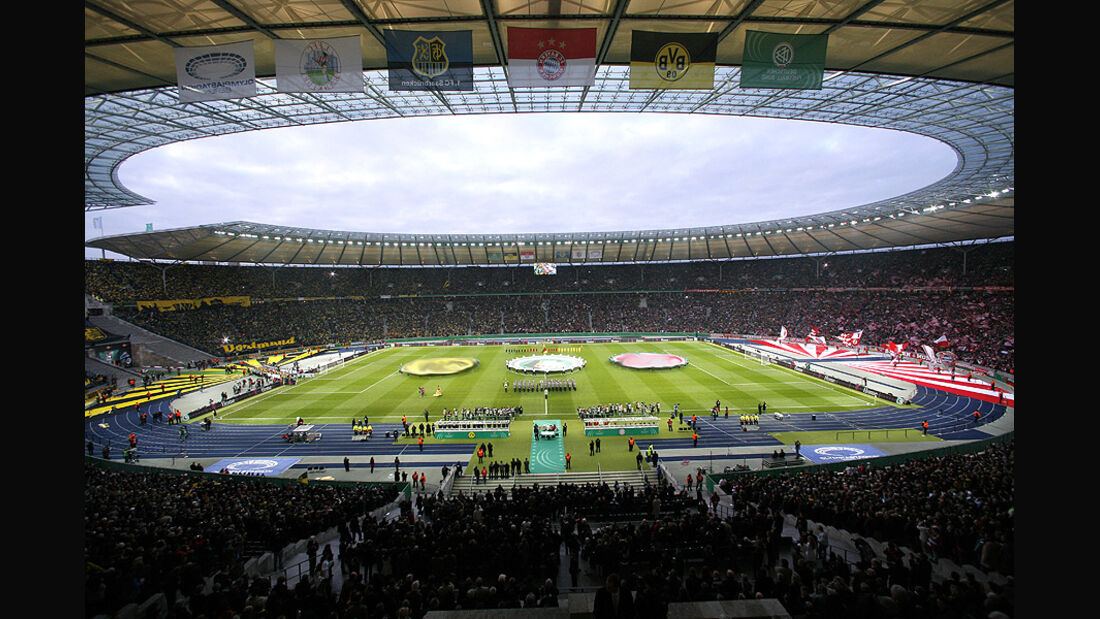 DFB Pokal Olympiastadion Berlin