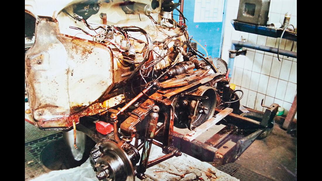 DKW AU 1000 S Coupè De Luxe, Demontage
