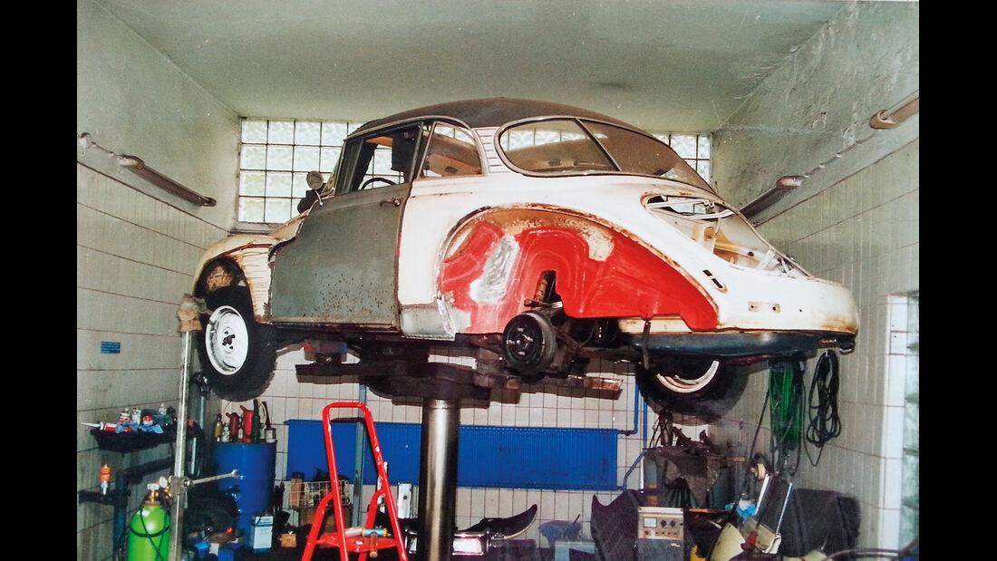 DKW AU 1000 S Coupè De Luxe, Unterbodenschutz