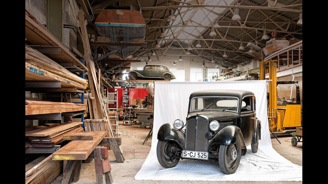 DKW F5 Reichsklasse, Restaurierung, Impressionen
