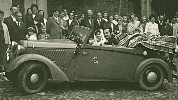 DKW F5 Roadster Cabriolet, Fahrbericht, ams0619