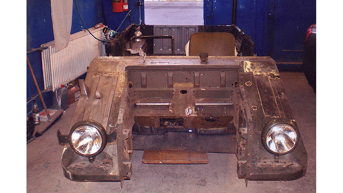 DKW Munga - Front