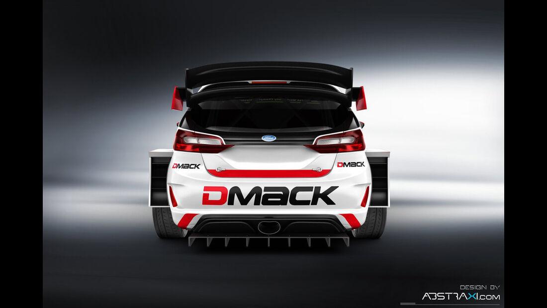 DMACK Ford Fiesta WRC 2017