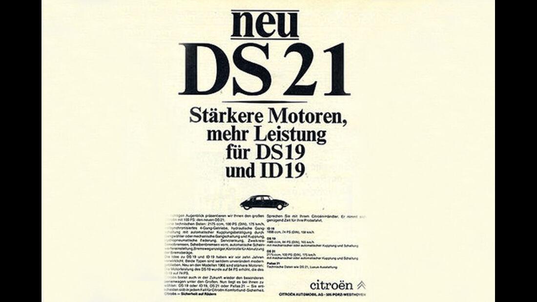 DS, 21, IAA 1965