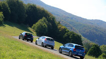 DS 3 THP 208, Ford Fiesta ST200, VW Polo GTI, Heckansicht