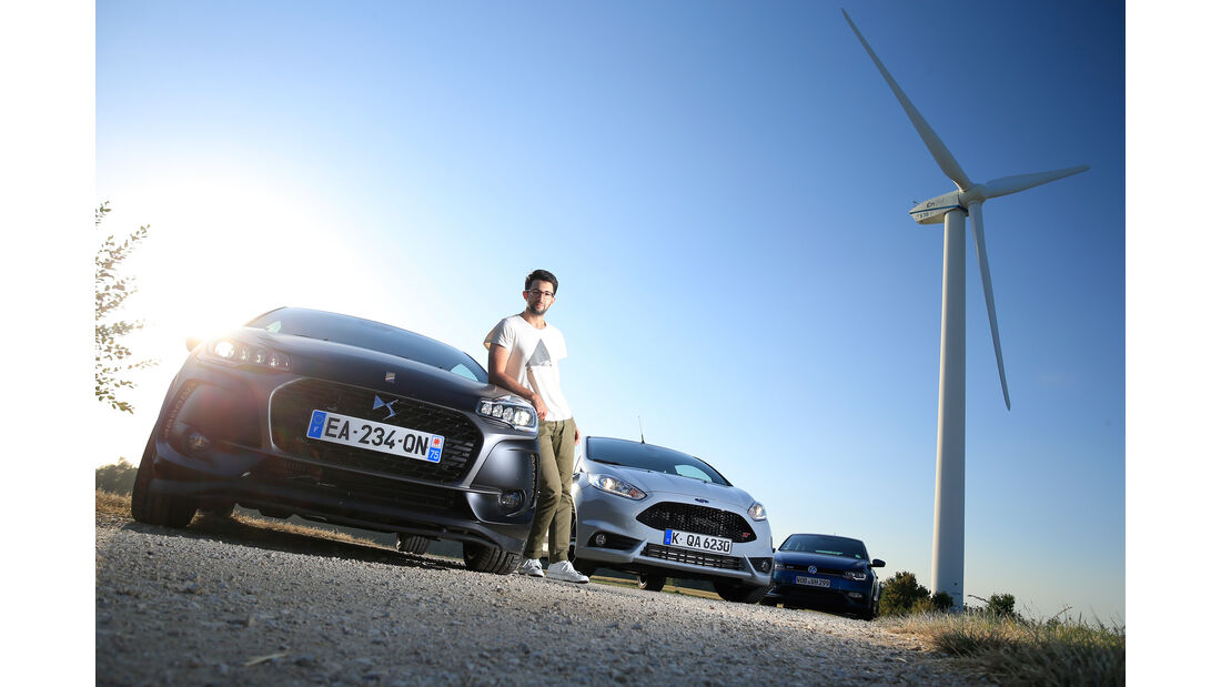 DS 3 THP 208, Ford Fiesta ST200, VW Polo GTI, Roman Domes