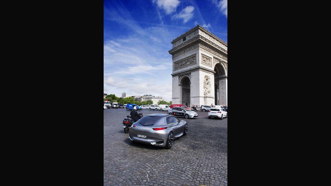 DS Divine, Citroen, Paris, Fahrbericht, Impression