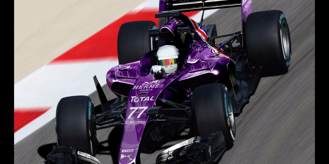 DS - Formel 1 2017 - Designs - Sean Bull