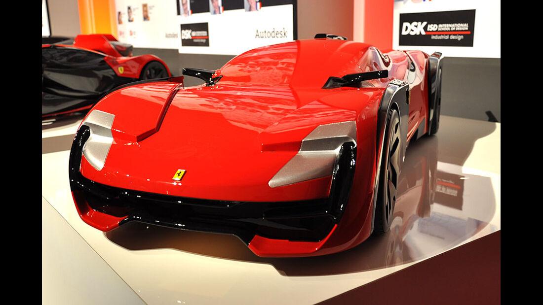 DSK Pune, Ferrari World Design Contest 2011
