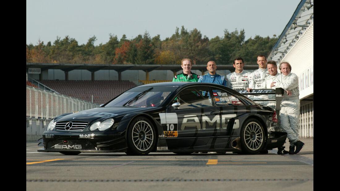 DTM 2003 Test Mercedes Laffite