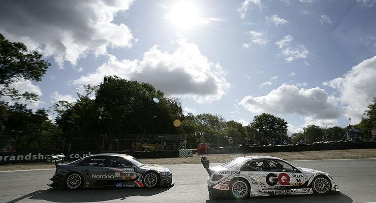 DTM 2009 Brands Hatch Bakkerud Engel