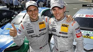DTM 2012 Norisring, Paffett, Green