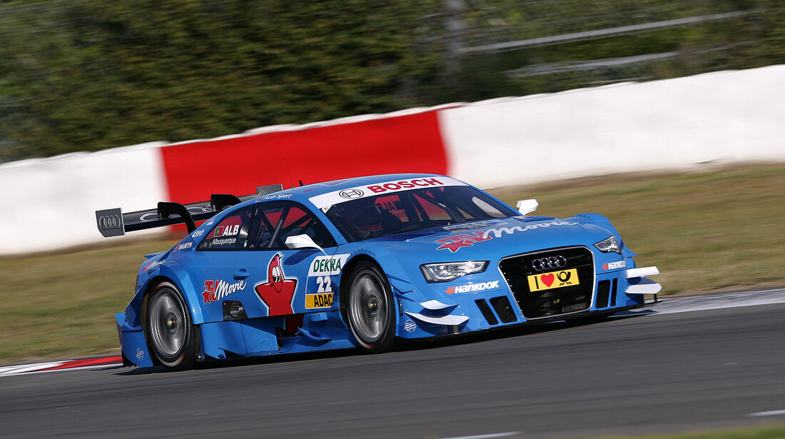 DTM 2012 Nürburgring, Qualifying, Filipe Albuquerque