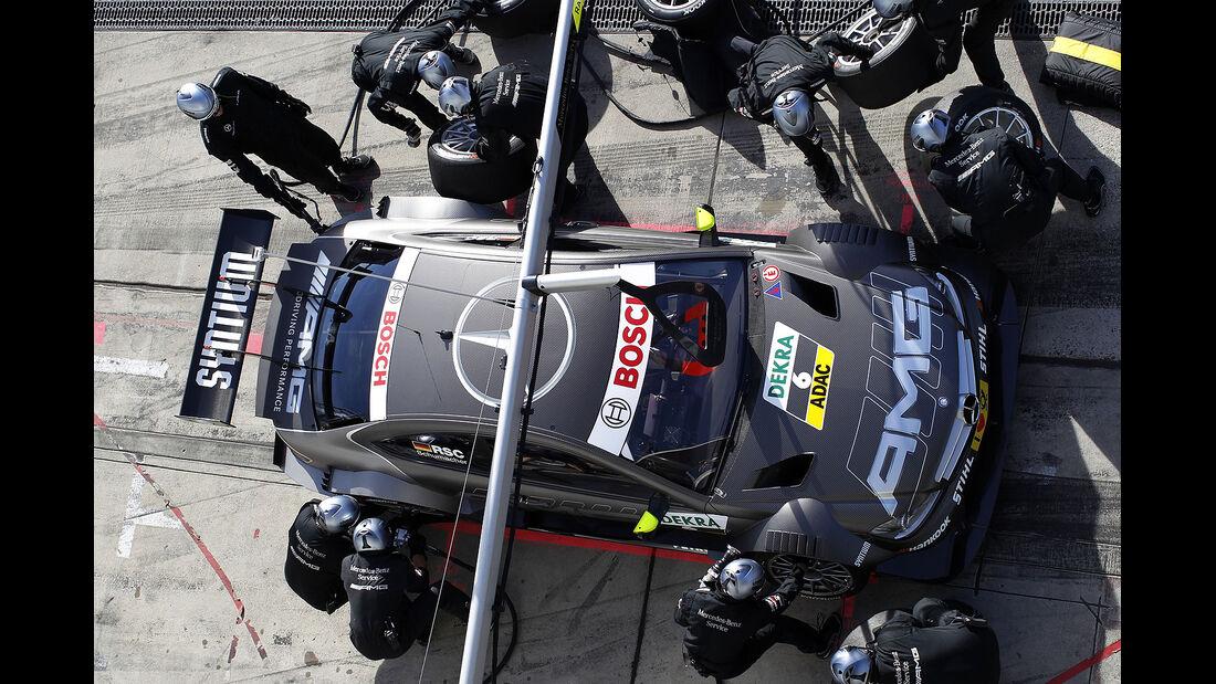 DTM 2012 Nürburgring, Rennen, Ralf Schumacher