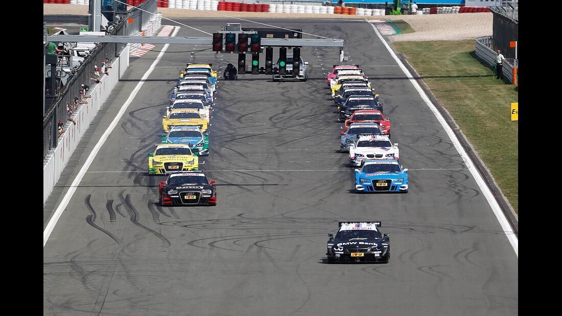 DTM 2012 Nürburgring, Rennen, Start