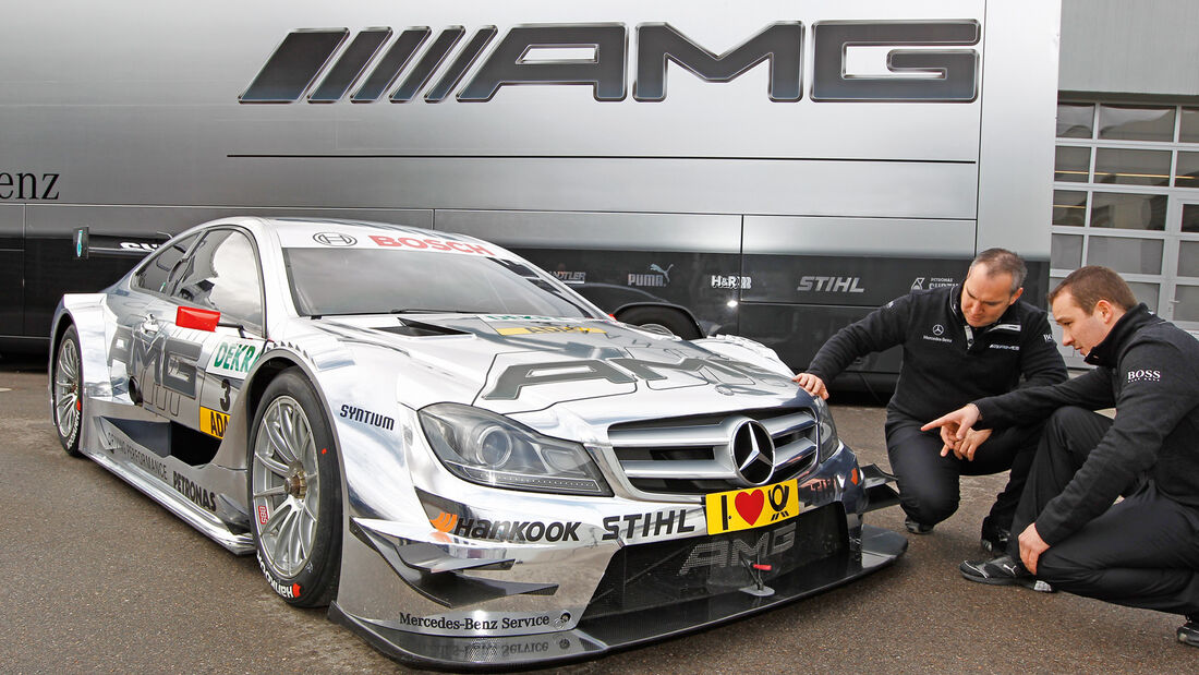 DTM 2012: Technik - Mercedes C-Coupé