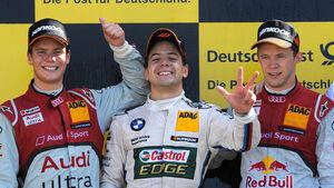 DTM 2012 Valencia, Rennen, Augusto Farfus, Adrien Tambay, Mattias Eckström
