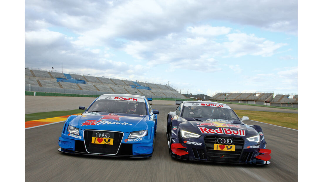 DTM 2012: Vergleich Audi A4 und A5