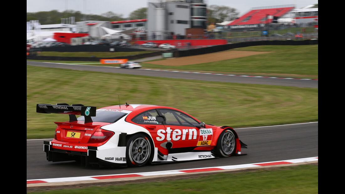 DTM  2013 Brands Hatch Qualifying Daniel Juncadella