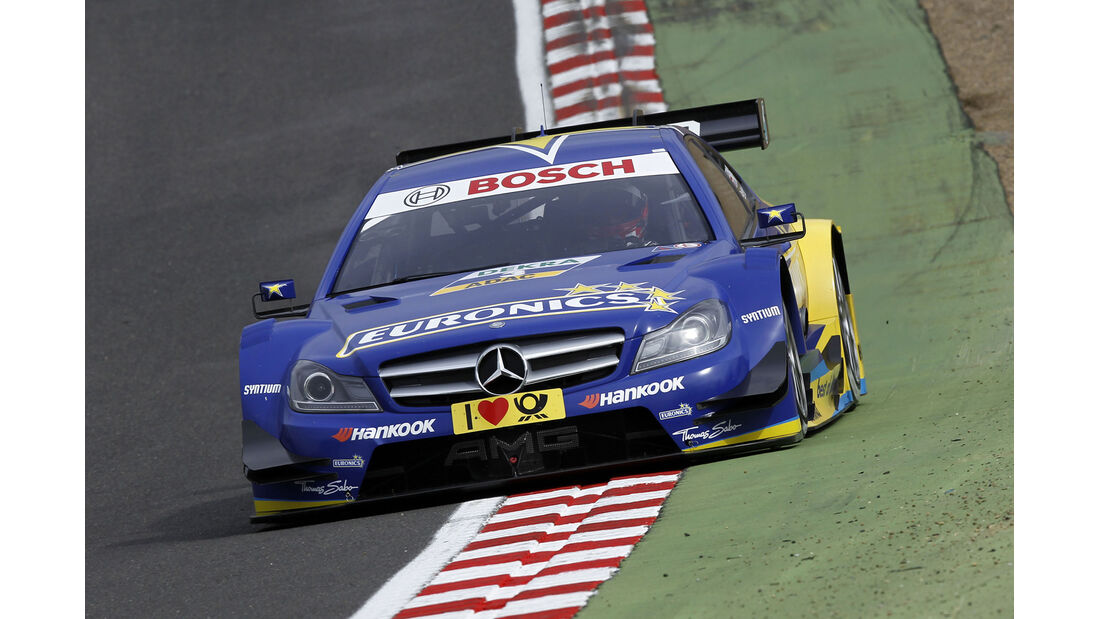DTM  2013 Brands Hatch Qualifying Gary Paffett
