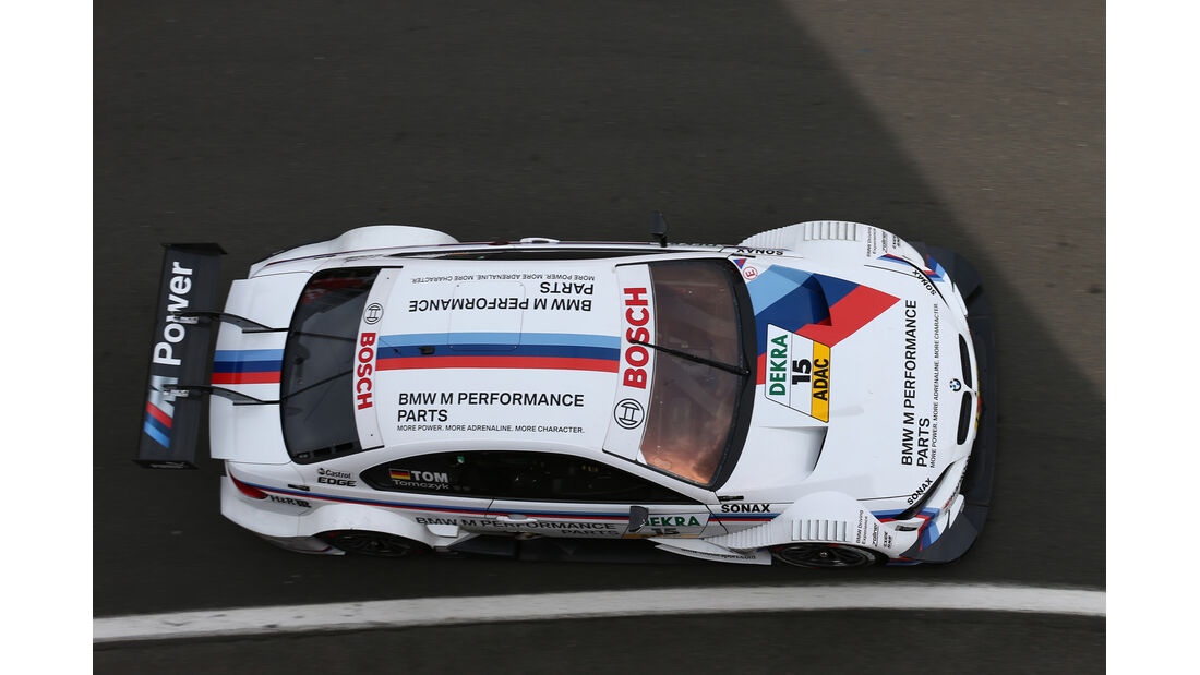 DTM  2013 Brands Hatch Qualifying Martin Tomczyk