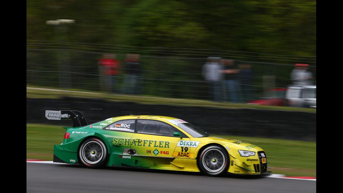 DTM  2013 Brands Hatch Qualifying Mike Rockenfeller