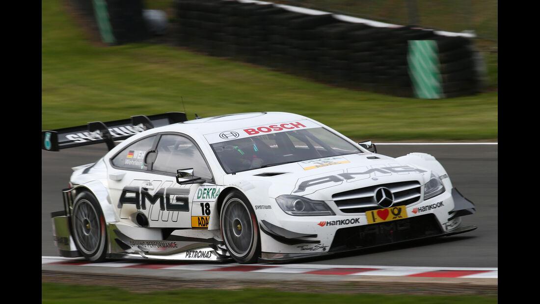 DTM  2013 Brands Hatch Qualifying Pascal Wehrlein
