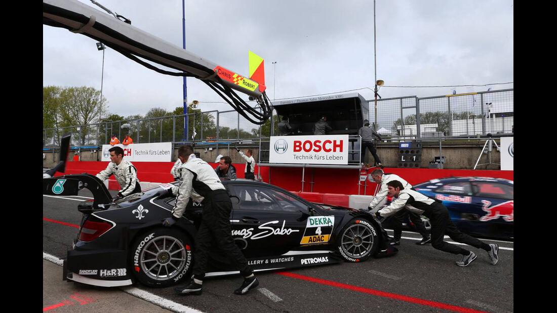DTM  2013 Brands Hatch Qualifying Roberto Mehri