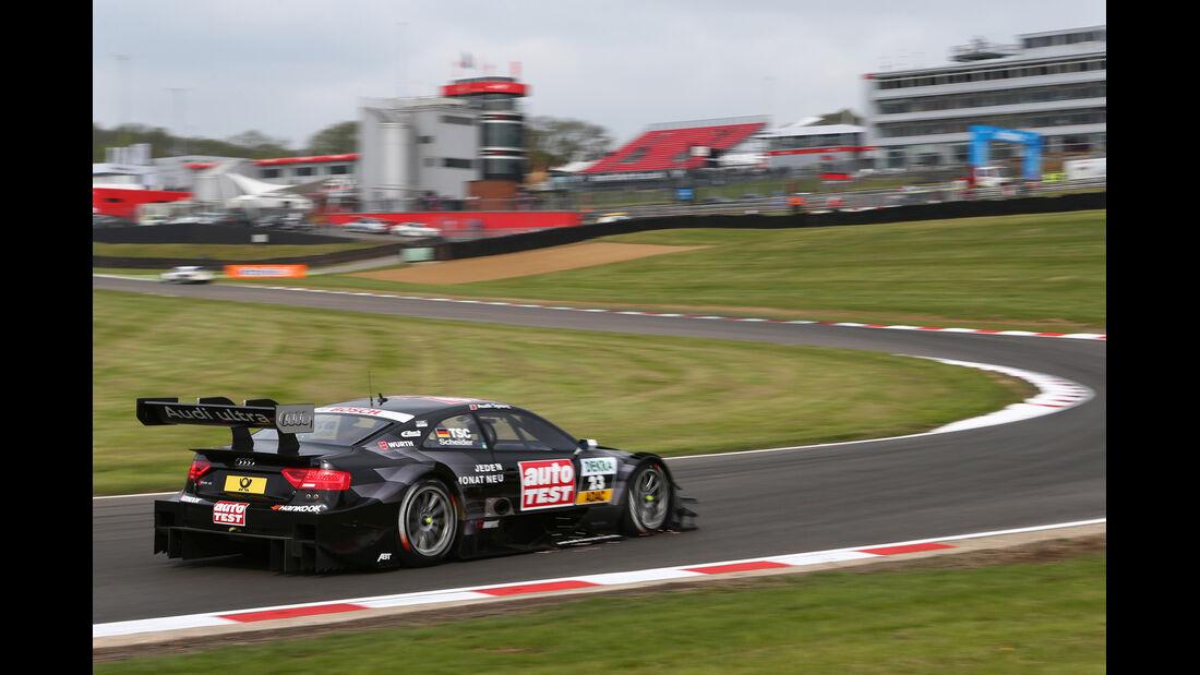 DTM  2013 Brands Hatch Qualifying Timo Scheider