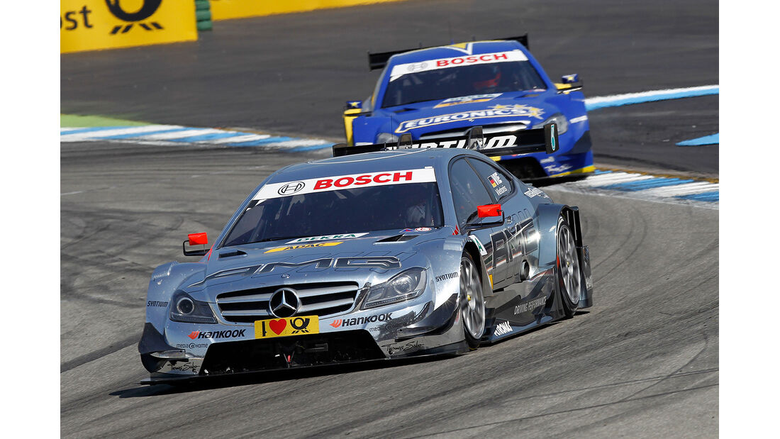 DTM 2013 Hockenheim 1, Rennen, Vietoris