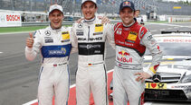 DTM 2013 Lausitzring Qualifying, Cristian , Gary Paffett, Jamie Green