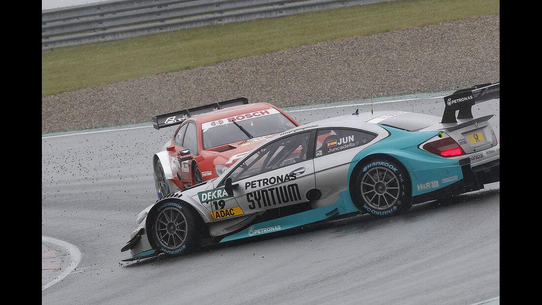DTM 2014 - Oschersleben - Rennen - Juncadella - Petrov - Mercedes