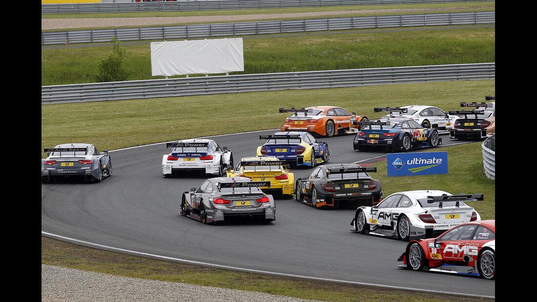 DTM 2014 - Oschersleben - Rennen - Start