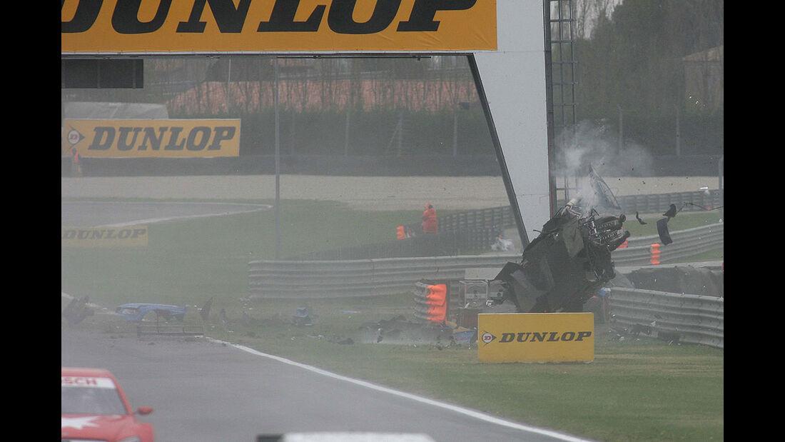 DTM Adria 2010 Alexandre Premat Crash Audi