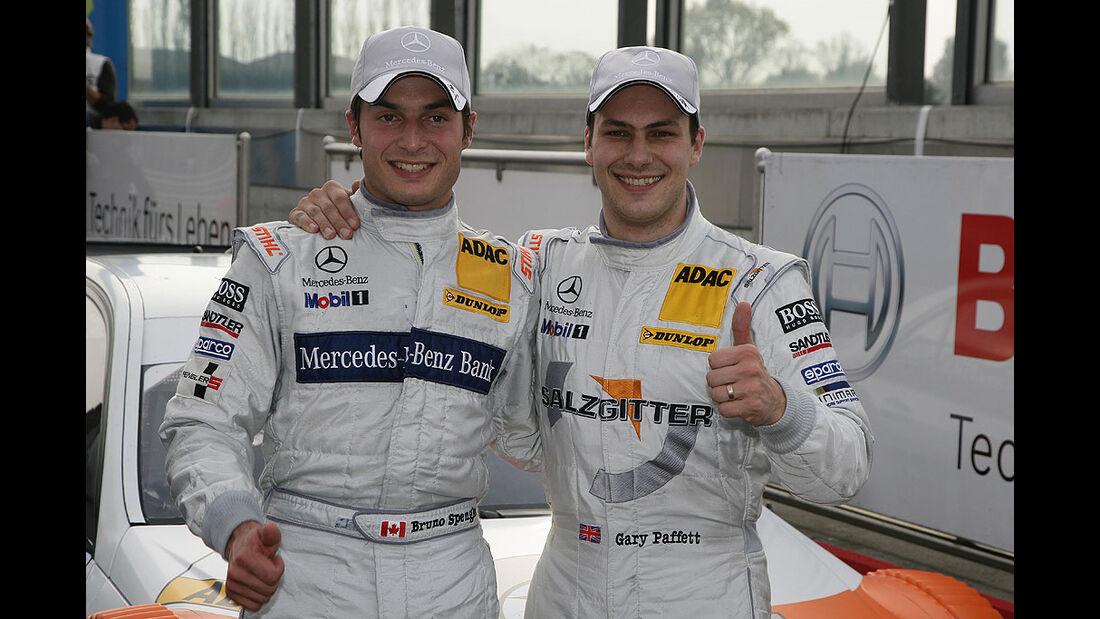 DTM Adria 2010 Bruno Spengler, Garry Paffett Mercedes
