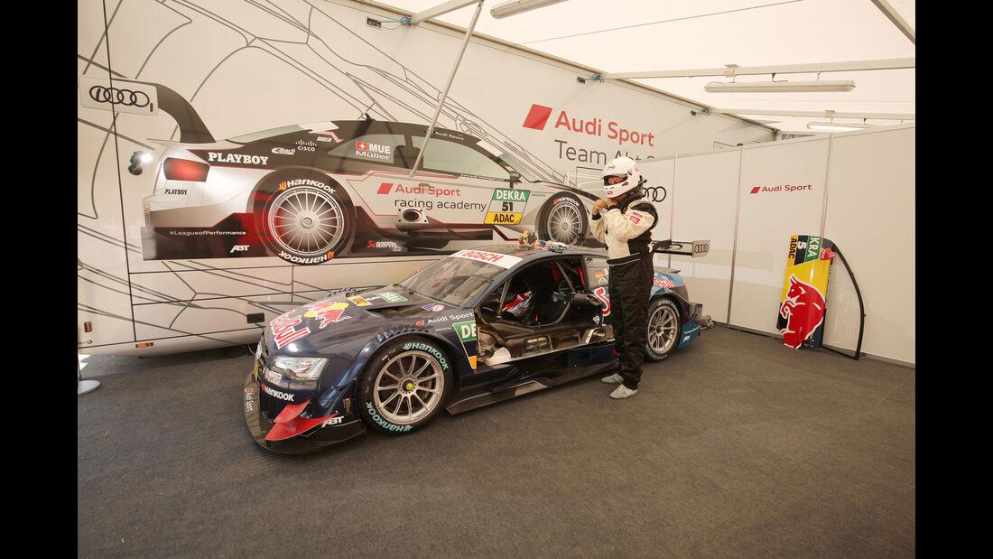 DTM-Audi auf dem Norisring