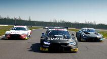 DTM-Autos 2019 - Testfahrten - Lausitzring