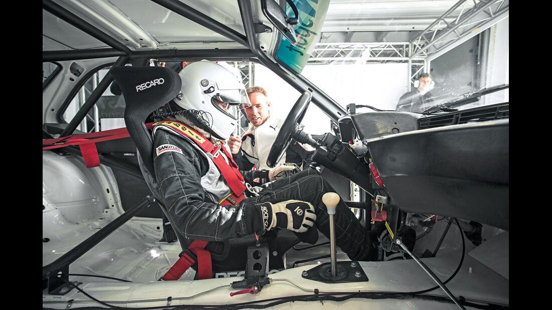 DTM-BMW, 635 CSi, Cockpit