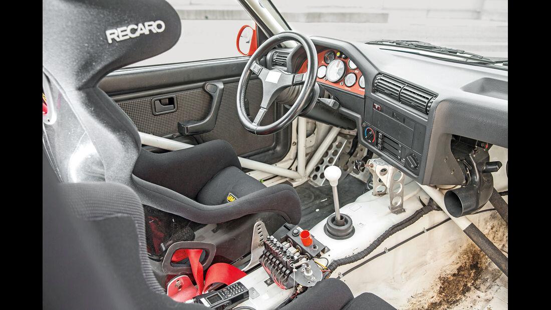 DTM-BMW, M3 E30, Cockpit