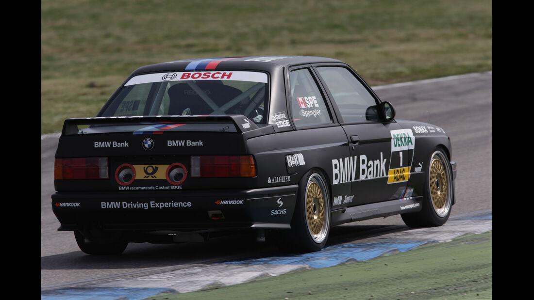 DTM BMW M3, Heckansicht