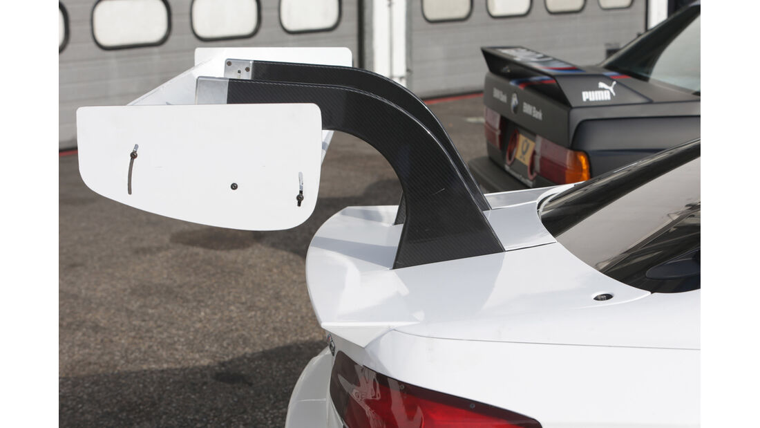 DTM BMW M3, Heckspoiler, Heckschürze
