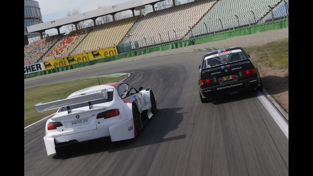 DTM BMW M3-Meisterautos, Heckansicht